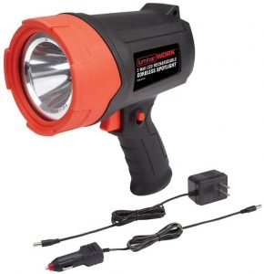 Luminar 3 Watt LED Rechargeable Cordless Spotlight