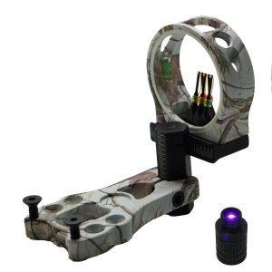 """Safari Choice Archery 5-Pin 0.029"""" Bow Sight"""
